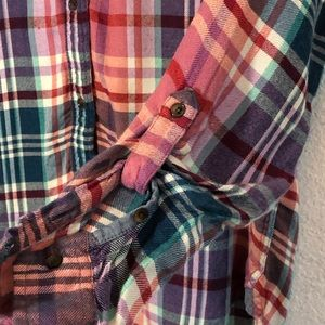Lucky Brand Tops - Lucky Brand Flannel Size XS